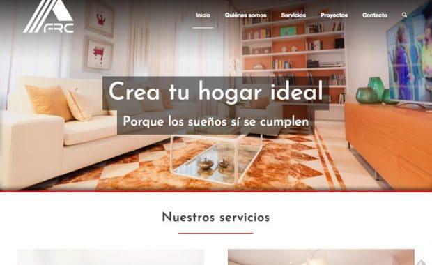 Página Web FRC Construcción