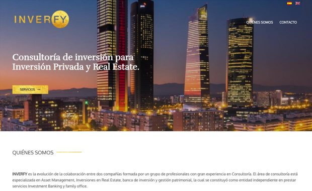Diseño Página Web INVERFY
