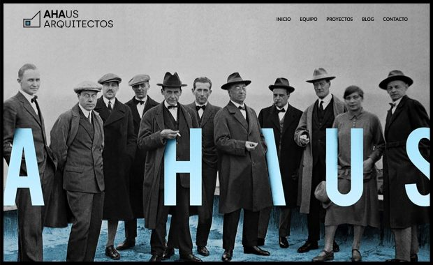 Página Web AHAUS Arquitectos Huelva