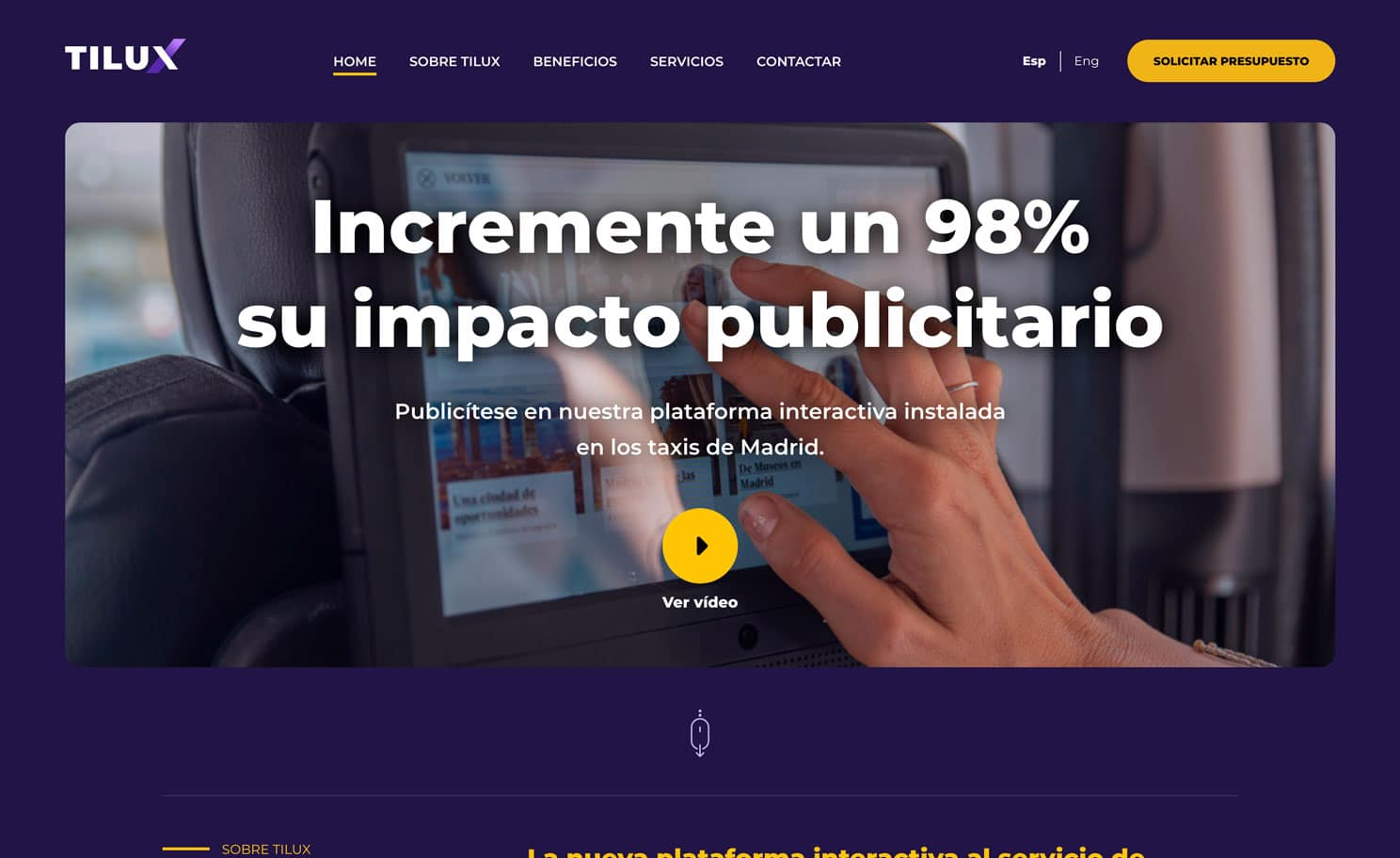 Diseño Página Web TILUX