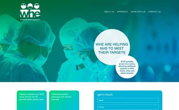 Diseño Página Web WHE