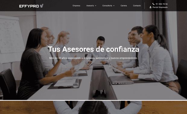 Diseño Página Web EFFYPRO